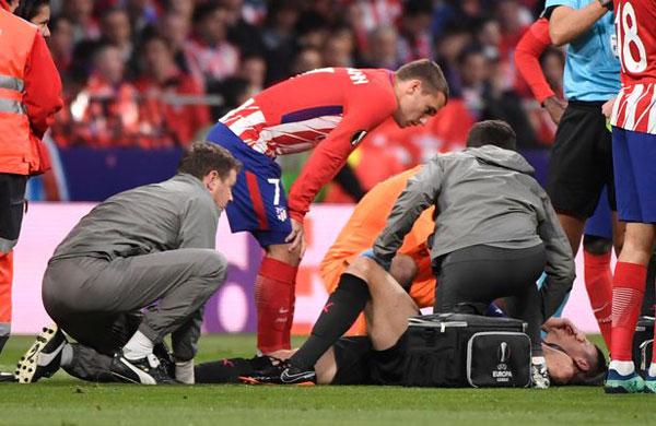 Là đồng đội trong tuyển Pháp, chân sút Atletico