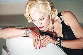 Madonna - một người sinh cung Sư tử.