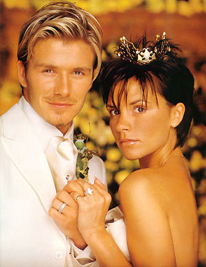Danh thủ David Beckham, tuýp người thuộc cung Kim Ngưu và vợ anh, Victoria Beckham.
