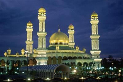 Vẻ đẹp Brunei.