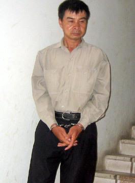 Hung thủ giết vợ Nguyễn Văn Tuyên.