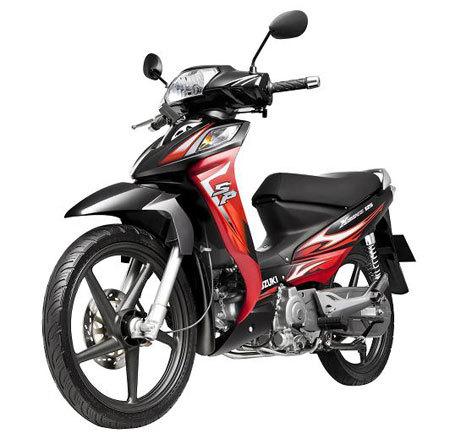 Suzuki X-Bike125cc- Tiết kiệm nhiên liệu và thân thiện với môi trường.