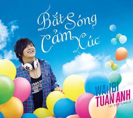 Bắt sóng cảm xúc của Wanbi Tuấn Anh với bìa DVD ấn tượng