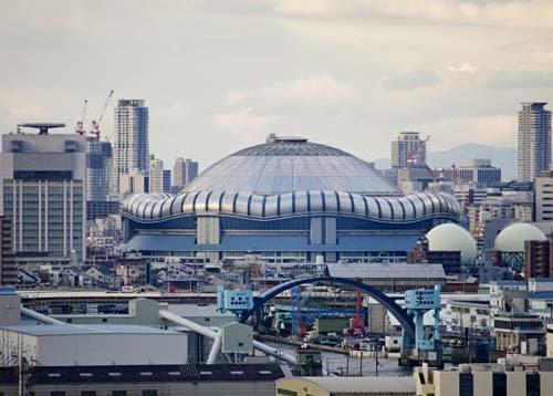 Osaka-Dome,-Japan