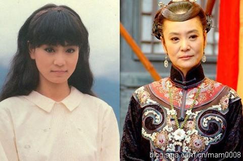 Đôi mắt đẹp 'trứ danh' của diễn viên Lưu Tuyết Hoa.