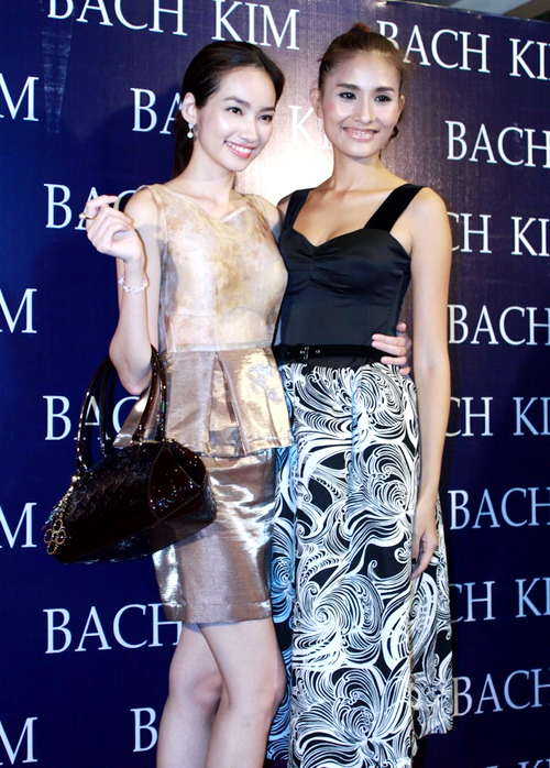 Tuy là thế hệ mẫu đàn em nhưng mối quan hệ giữa Trúc Diễm và Kim Minh khá thân thiết. Hoa hậu Thời trang cũng hứa với Kim Minh sẽ giúp cô trong công việc đào tạo các người mẫu mới.