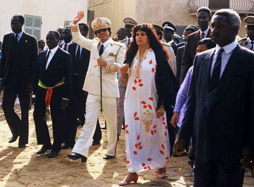 Britain is attempting to target Col Muammar Gaddafi's wife with UN sanctions, fearing her multi-billion dollar fortune could be used to bolster her husband's rule and attacks on civilians. Mrs Gaddafi, who is known by her maiden name of Safia Farkash has been the Libyan leader's wife for 40 years. Her personal fortune has been put by some of her many enemies at $30 billion (£18 billion). The mother of his daughter and six of his seven sons, she became Col Gaddafi's second wife in 1971, after nursing him through a bout of appendicitis.