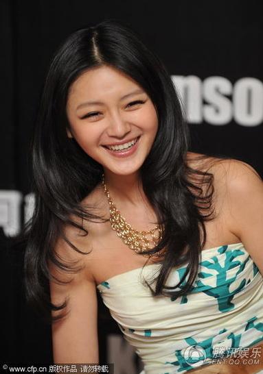 Nụ cười rạng rỡ của Từ Hy Viên.