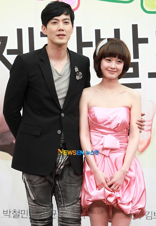 Jang Nara và nam diễn viên