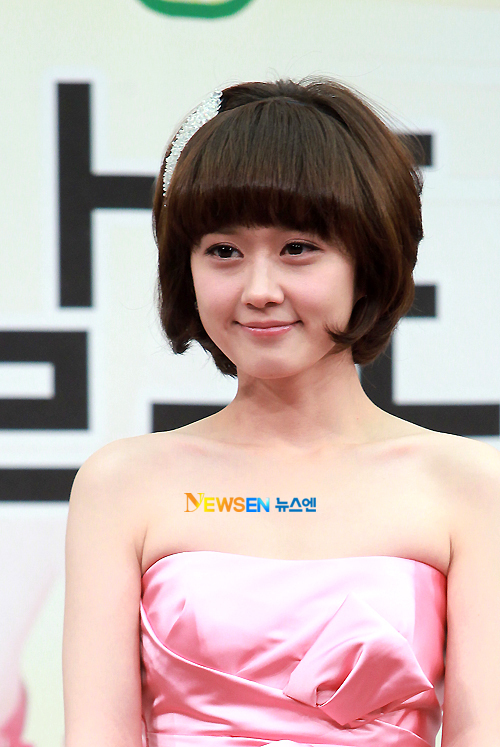 Jang Nara xuất hiện tại buổi họp báo ra mắt 'Baby Faced Beauty' chiều qua 27/4 tại Seoul