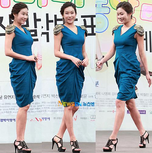 Hai người đẹp tham gia phim là Hyun Young...