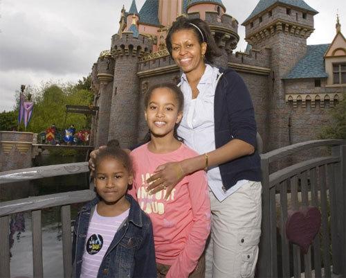 At Disneyland , 3/2007