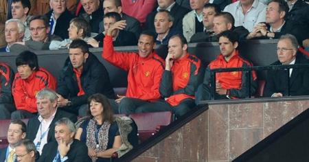 Các ngôi sao của MU Ferdinand, Rooney, Park Ji Sung được nghỉ dưỡng sức trong trận này.
