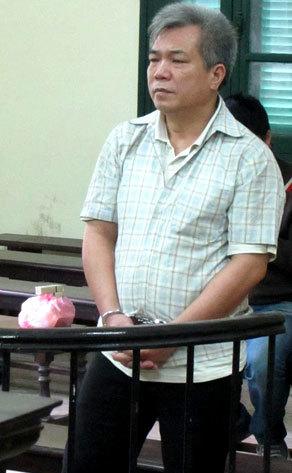 Bị cáo Minh trong giờ tuyên án.