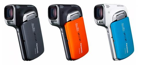 Máy quay mới của Panasonic mô hình khẩu súng lục. Ảnh: Engadget.