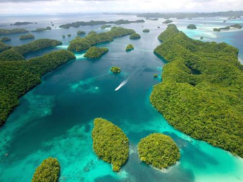 Đảo Palau Rock bao gồm hơn 300 hòn đảo nằm ở ngoài khơi Thái Bình Dương, phía tây nam đảo Guam. Đây là địa điểm đẹp cho việc lặn biển và cũng là nơi có bảo tàng Chiến tranh Thế giới thứ II, lưu giữ những xác tàu chiến.