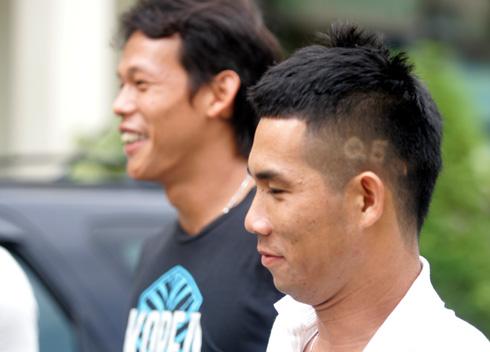 Kiểu tóc thời thượng của Hoàng Quảng.