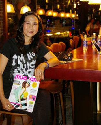 Chị Nguyễn Thị Thu - thành viên câu lạc bộ Lady Luxury.