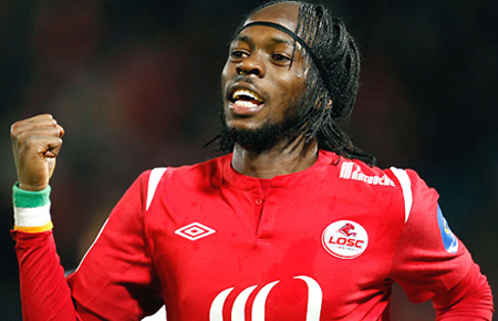 Gervinho chuẩn bị gia nhập Arsenal. Ảnh: Football.