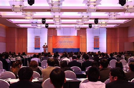 Hội nghị khách hàng của Ngân hàng SHB tại Phú Quốc.