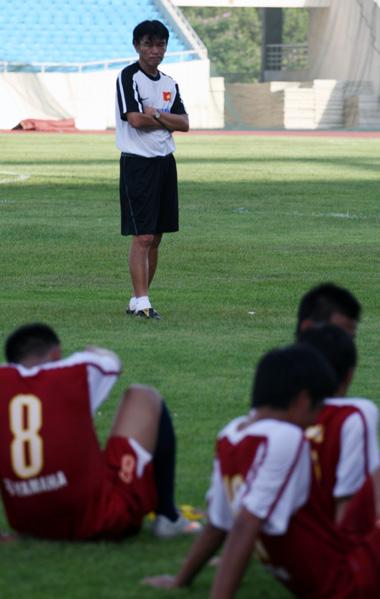 Ông có nhiệm vụ dẫn dắt đội tuyển U23 Việt Nam lấy được điểm trước đội bóng Trung Đông.