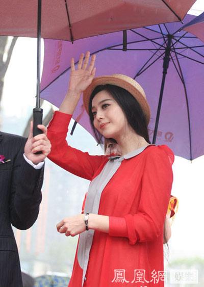 Băng Băng là một trong những diễn viên Hoa ngữ đắt show quảng cáo nhất.