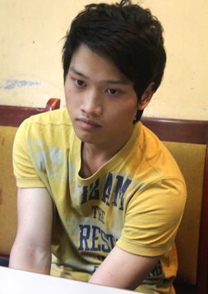 Nghi phạm Nguyễn Duy Quang, kẻ ra tay tàn độc với nữ sinh tại trụ sở cảnh sát.