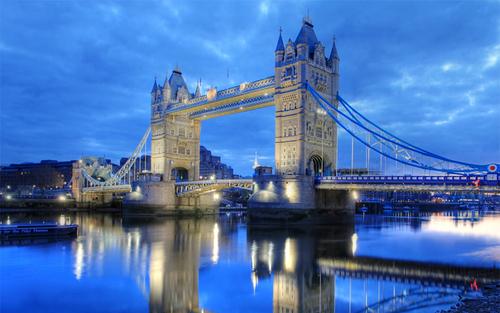 Cây cầu nổi tiếng ở London.