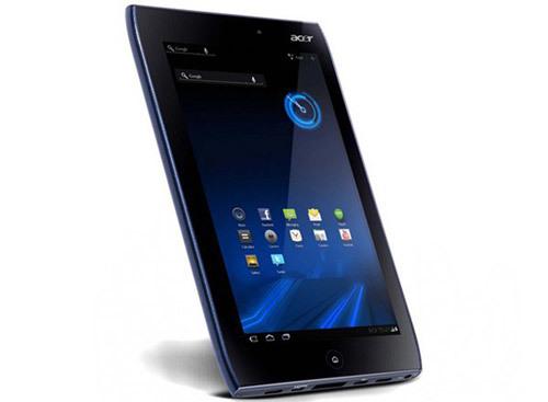 Acer Iconia Tab A100 màn hình độ phân giải