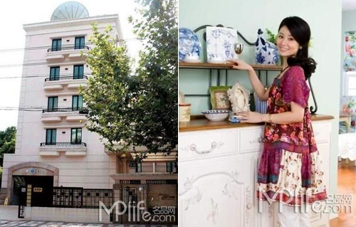 Căn hộ của Lâm Tâm Như nằm tại một khu phố yên tĩnh tại Thượng Hải.