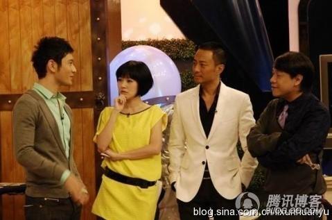 MC Từ Hy Đệ, em gái Từ Hy Viên đặc biệt kết người đàn ông nam tính, đẹp trai như tài tử Trương Hàm Dự (áo vest trắng).
