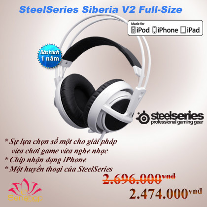 Steelseries Siberia V2 for Iphone.