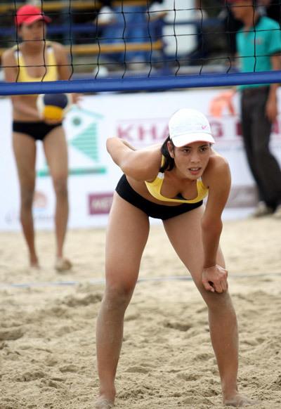 Trương Thị Yến và Nguyễn Thị Mãi là cặp đôi bóng chuyền bãi biển nhiều thành tích của Hải Phòng.