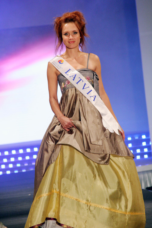 Miss Latvia.