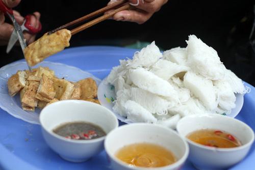 Bún đậu mắm tôm rất phổ biến ở Hà Nội.