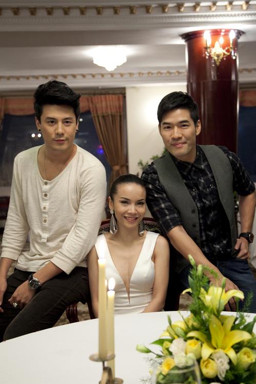 Yến Trang trở thành khách mời trong chương trình truyền hình thực tế mới nhất của DJ Woody (ngoài cùng bên phải). Ảnh: Tom Nguyễn.