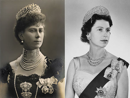 Queen Elizabeth II must have been a favorite of her granny, Queen Mary. The British monarch bears a remarkable likeness to the Queen consort, who saw both her beloved son King George VI and granddaughter Elizabeth ascend the throne before her death in 1953.