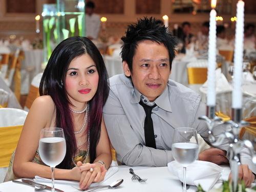 Vợ chồng ca sĩ Duy Mạnh.