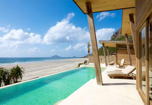 Gia đình nhà Brat Pitt đã chọn khách sạn tuyệt đẹp cho kỳ nghỉ tại Việt Nam.
