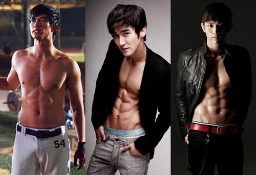 Ba chàng Taecyeon, Choi Siwon và Seulong.