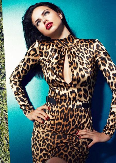 'Thiên thần Victoria's Secret' Adriana Lima.