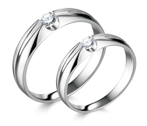 Nhãn hiệu trang sức Goodman năm nay cũng cho ra mắt nhiều mẫu nhẫn cưới đơn giản và sang trọng.