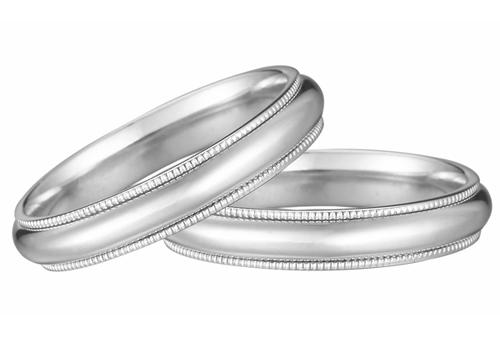 Nhẫn cưới của Thế giới kim cương được chế tác tinh xảo và bảo hành cả đời.