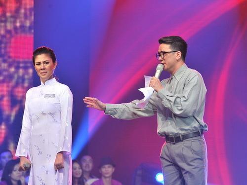 Kim Thư có sự tiến bộ về thanh nhạc so với nhiều tuần trước.