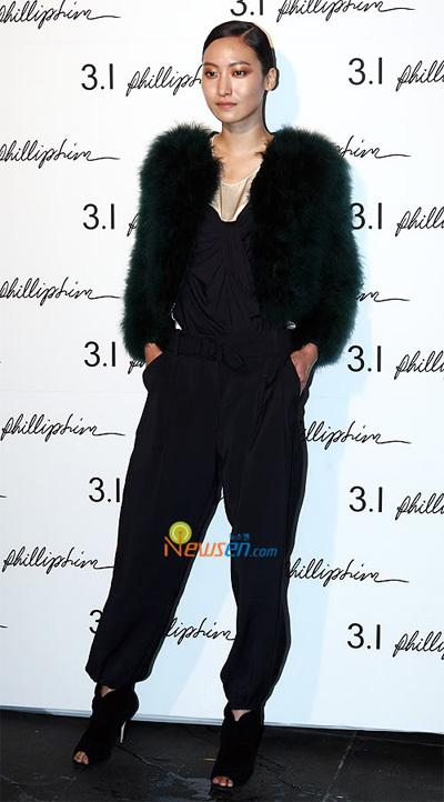 Siêu mẫu Kim Daul.