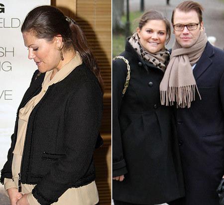 Tháng 3 năm sau, Victoria sẽ lâm bồn đứa con đầu lòng.