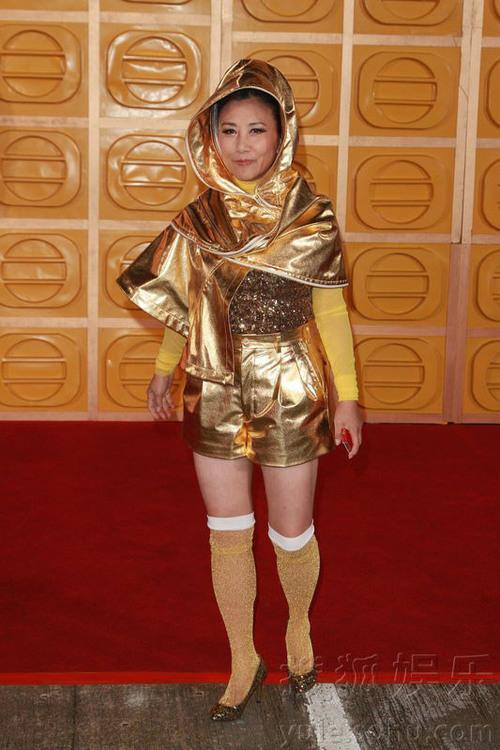 Diễn viên Uông Minh Thuyên ăn mặc theo cảm hứng cosplay.