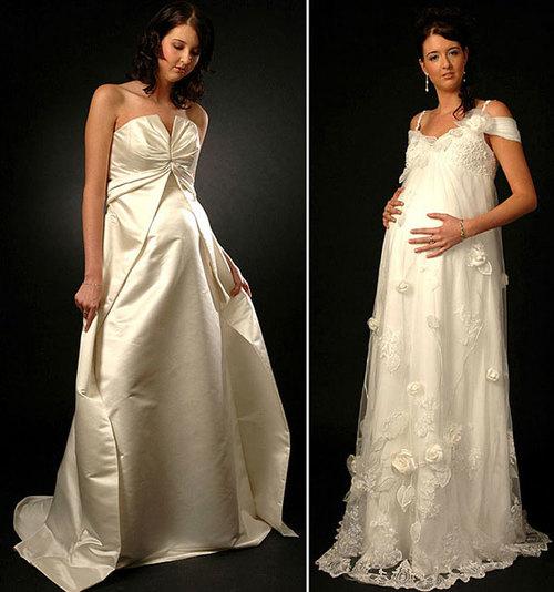 Kích cỡ của váy cưới cũng rất đa dạng, bà bầu bụng nhỏ hay bụng lớn đều có thể chọn được chiếc váy cưới ưng ý.