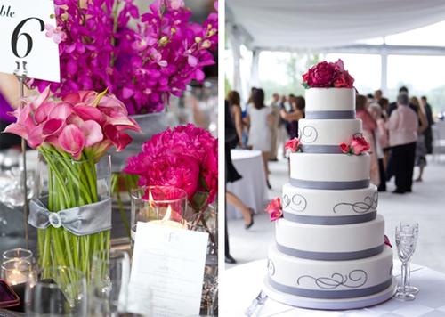 Một chiếc bánh cưới đơn giản sẽ là lựa chọn hoàn hảo.