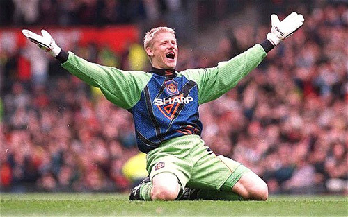 Peter Schmeichel (Wimbeldon v Manchester United, FA Cup, 1997